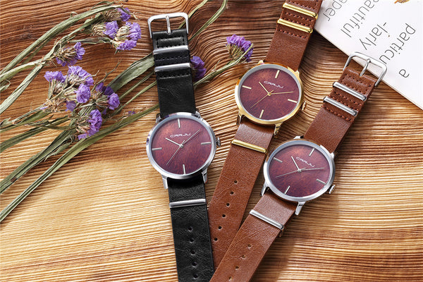 Wooden Casual Watch