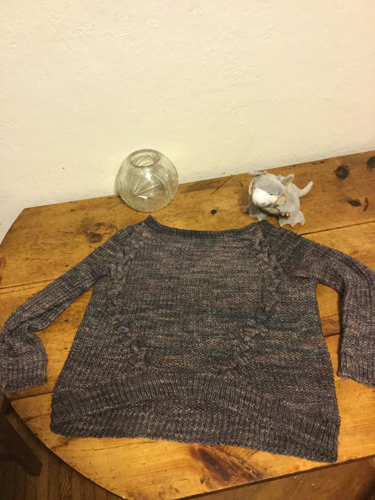 Project Notes: Dagmar Sweater