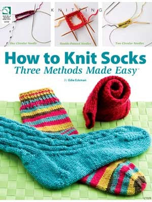How To Knit Socks - Three Methods Made Easy