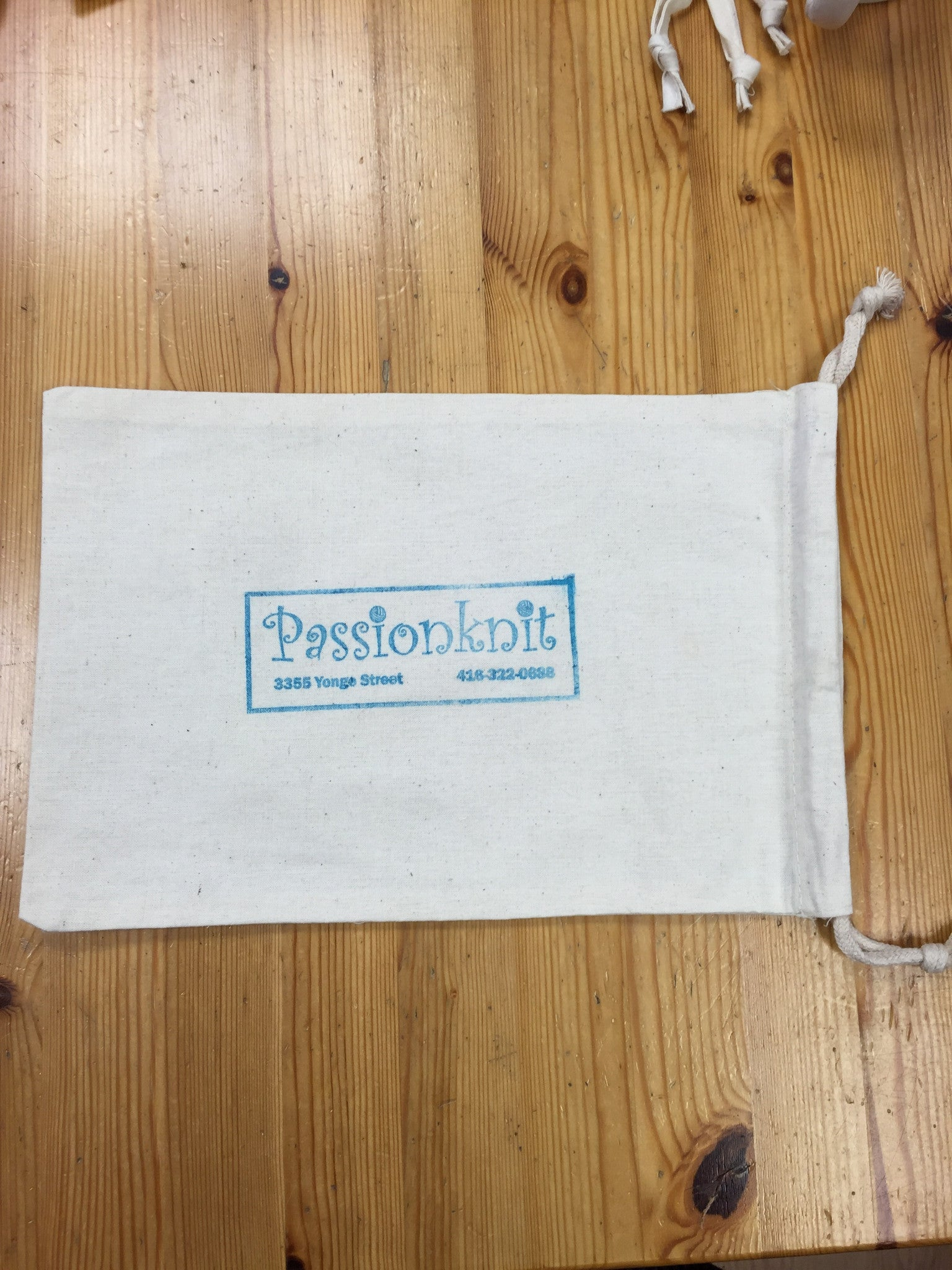 Passionknit project bag