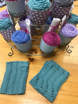 Cupcake Cashmere Mitts - Passionknit