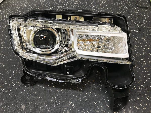 2011+ Jeep Grand Cherokee (Factory HID) to D2S 4.0/G5-R Brackets