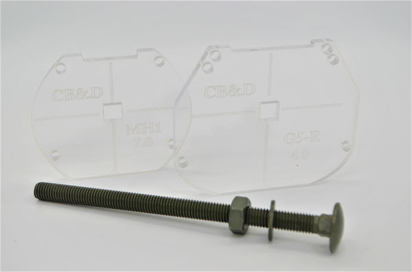 CB&D Recessed Retrofit Template Starter Kit MH1 and MD2S 5.0/G5