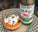 Mini Pumpkin Breakfast Cheesecakes with Forager Mikes Hot Sauce