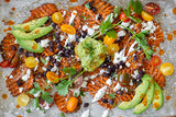 Spicy Sweet Potato Nachos