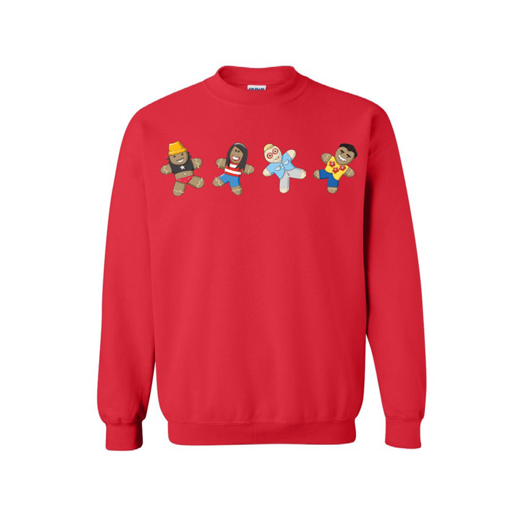 Gingerbread - Sweatshirt (Red)