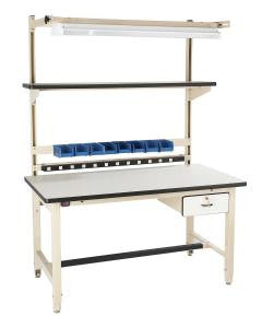 "Bench-in-a-Box - BIB4 - 72"" x 30"" ESD Work Bench"
