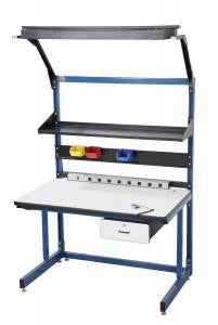"60"" x 30"" Cantilever Basics Model ESD Work Bench (BIB20)"