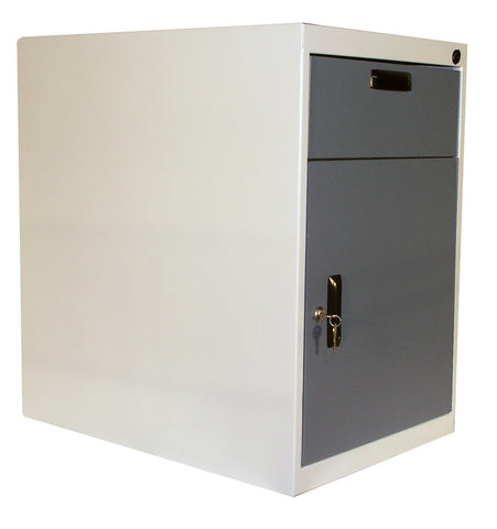 "Heavy Duty Modular Cabinets - Swing Door + 6"" Drawer + Locker"