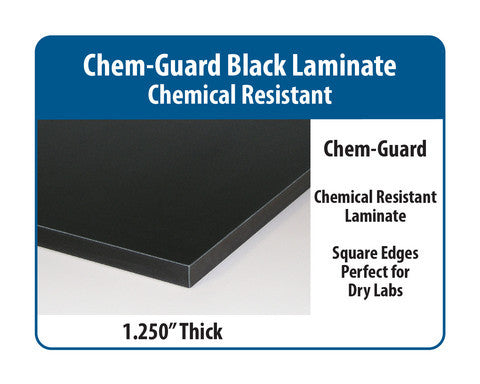 Complete Pack Bench with Chem-Guard Laminate Surface