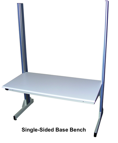 Dimension Next Base Bench with Plastic Laminate Surface