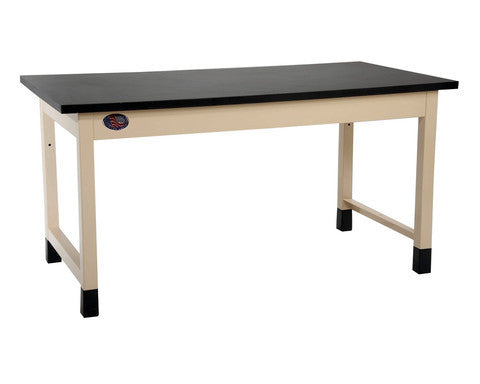 "Basic Lab Bench with 1.25"" Stainless Steel Surface"