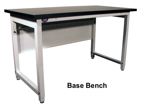 Pleasant Lab Hd Base Bench With 1 25 Stainless Steel Surface Theyellowbook Wood Chair Design Ideas Theyellowbookinfo