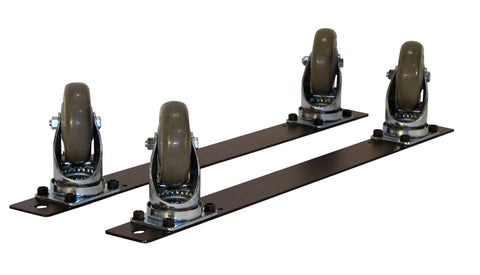 Four Total Lock Plate Casters