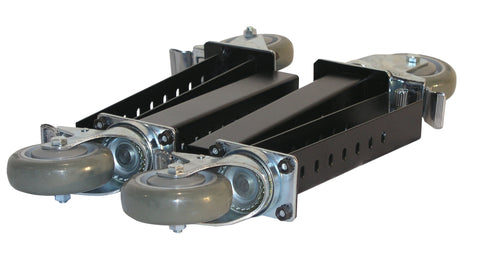Four Total Lock Plate Casters - Model HD and TSHD