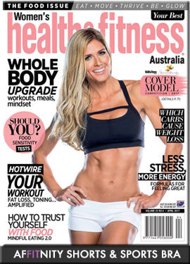 Health and Fitness Magazine Cover Model
