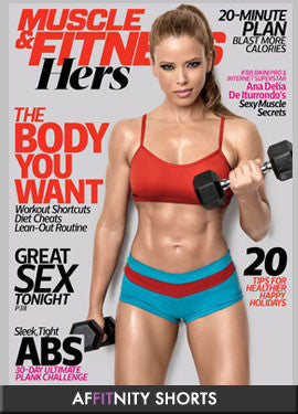 Muscle Fitness Hers Cover Model