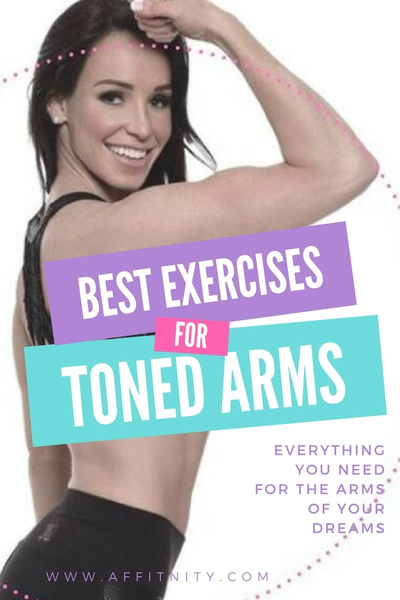 Best Exercises for Toned Arms Guide!