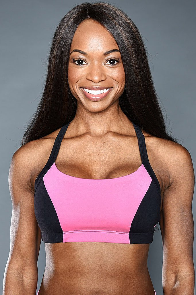 Bubble Gum Sports Bra