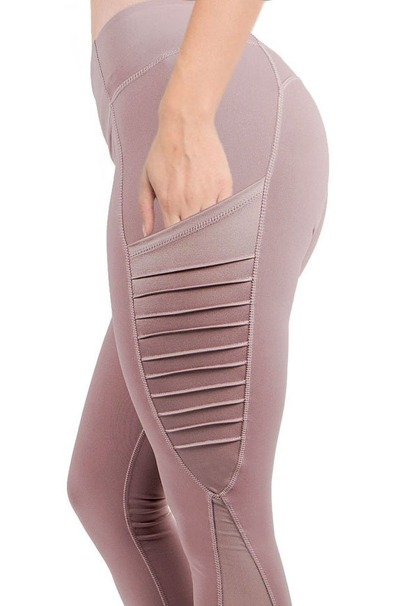 Moto Leggings with Pocket