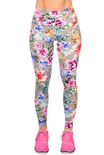 Load image into Gallery viewer, Flower Print Leggings