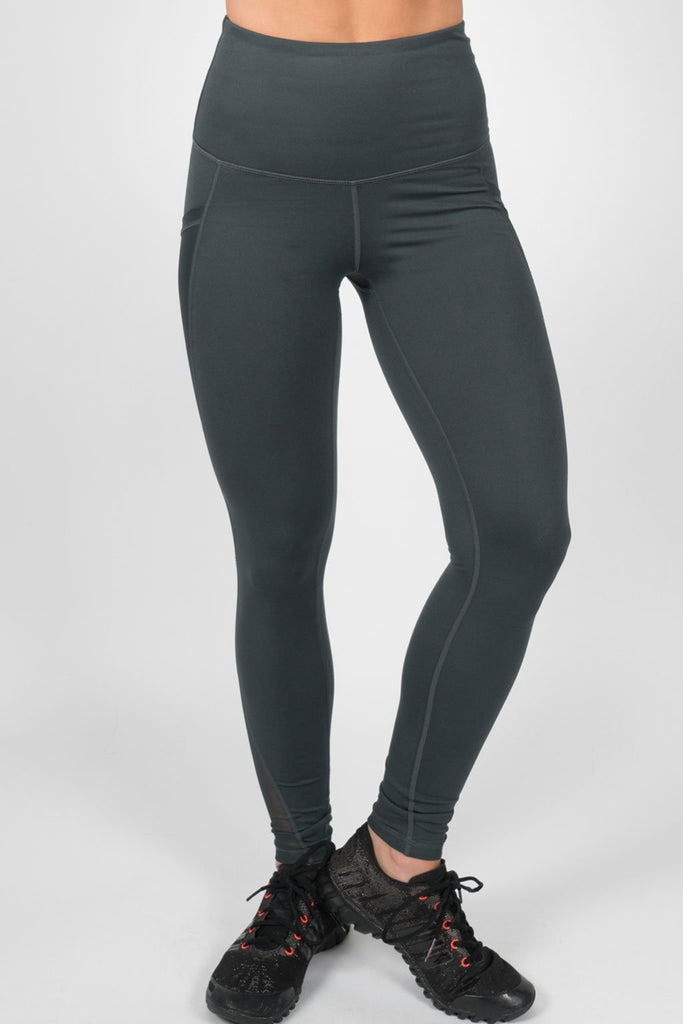 High Waisted Leggings - Teal
