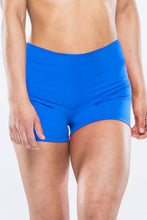 Load image into Gallery viewer, High Waisted Blue Shorts