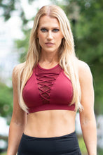Load image into Gallery viewer, Mesh Strappy Sports Bra