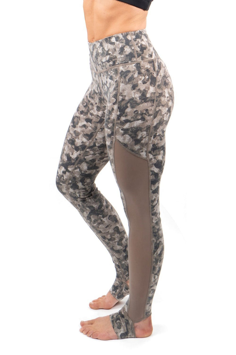 Printed Stirrup Leggings