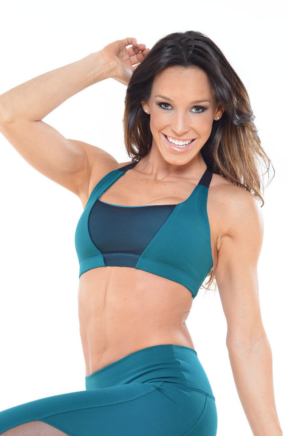 Meshy Sports Bra