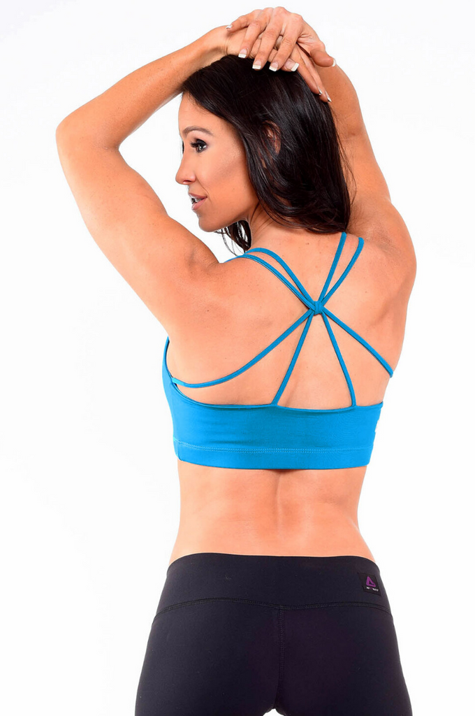 Spider Back Sports Bra