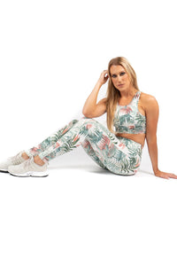 Tropical Print Leggings