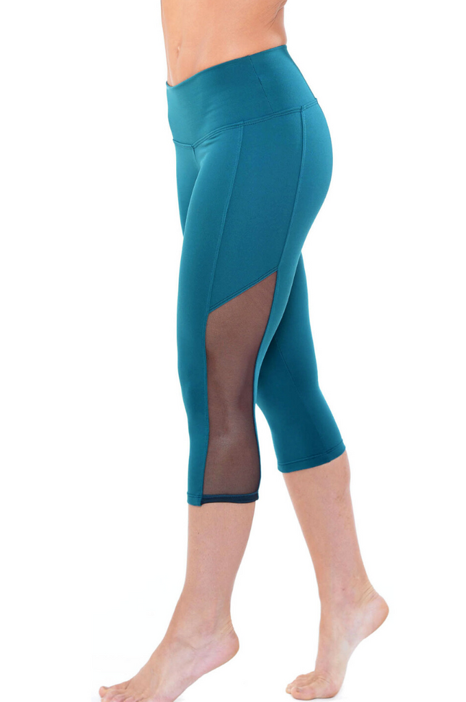 Teal Leggings -2