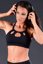 Load image into Gallery viewer, Affitnity Cut Out Sports Bra