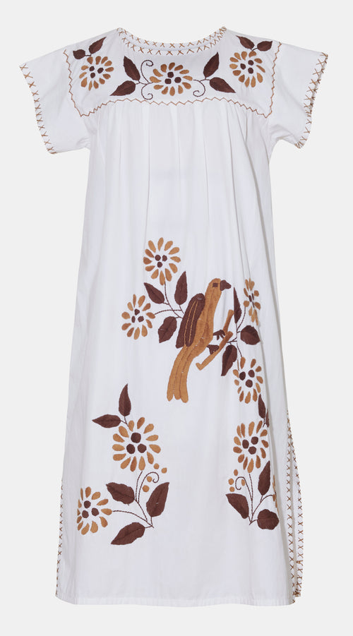 Carmen Kaftan Dress | Brown