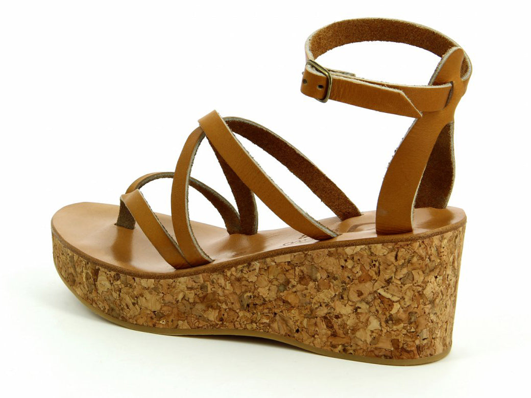 K. Jacques St Tropez | Odelyne Naturel Wedge