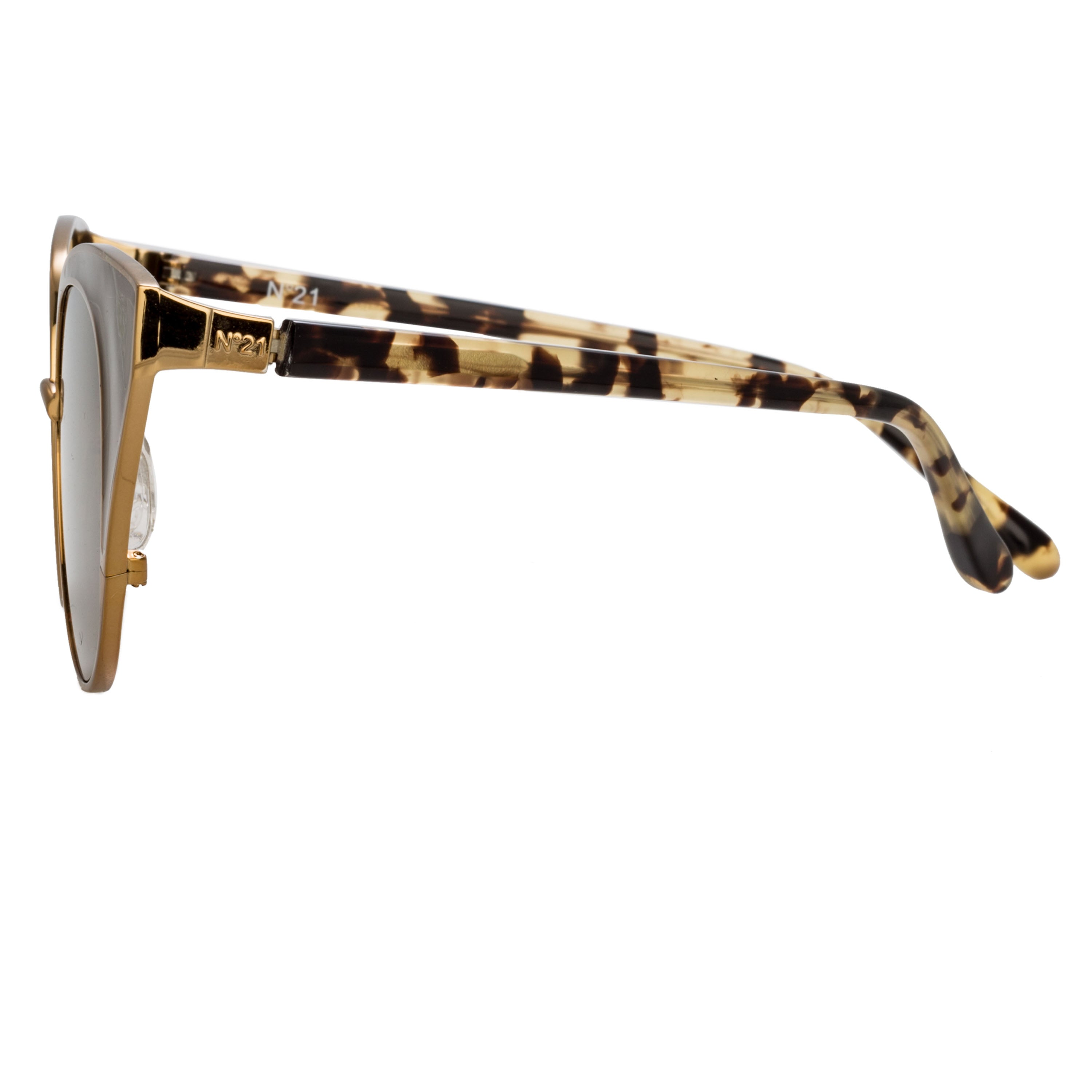 Linda Farrow | Tortoiseshell Cat-Eye Sunglasses