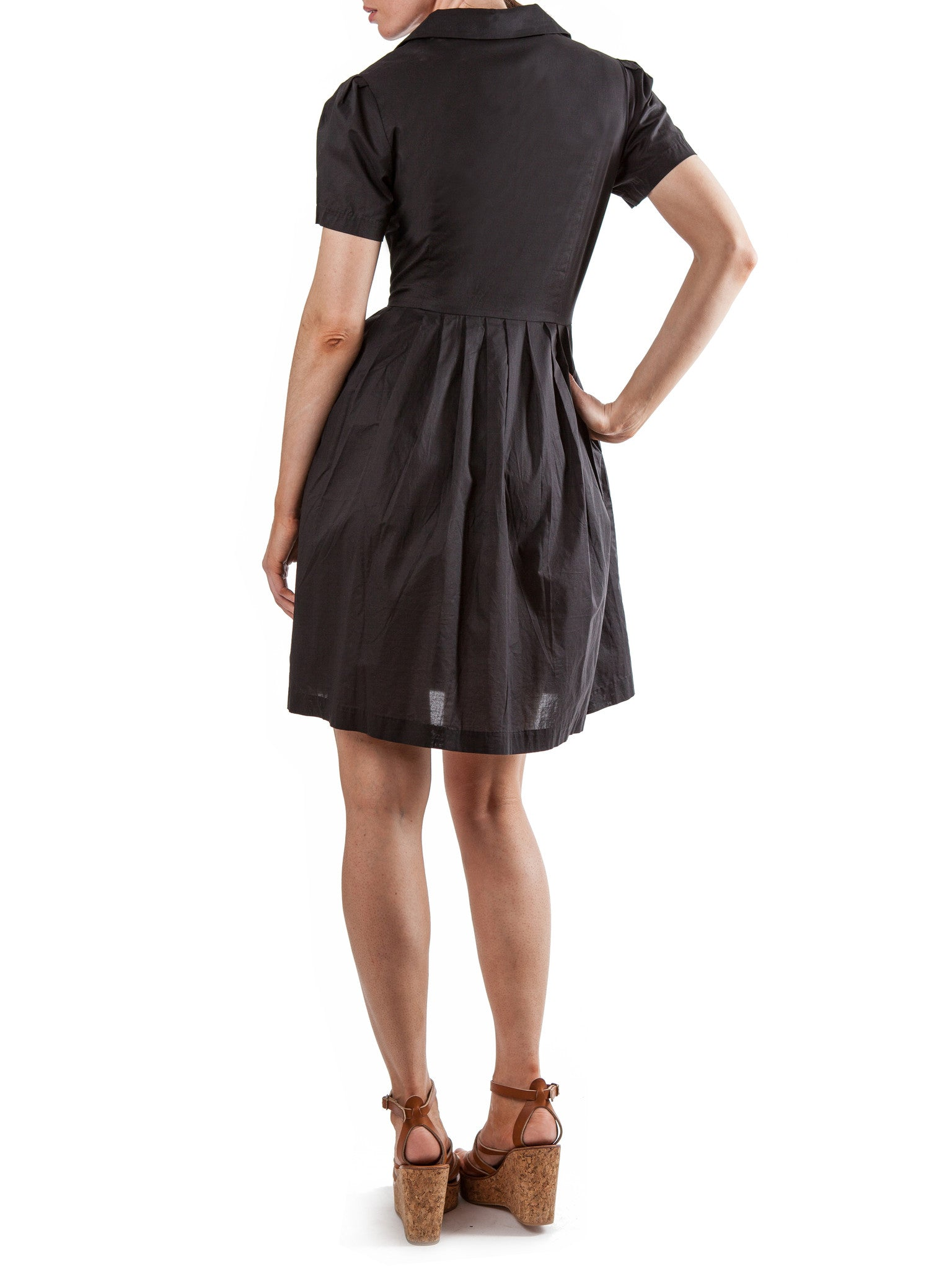 Black dress | Cotton