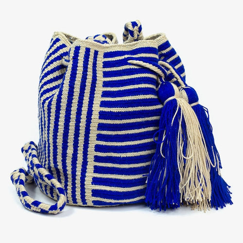 Guanabana | Akagi Medium Blue Crossbody Bag
