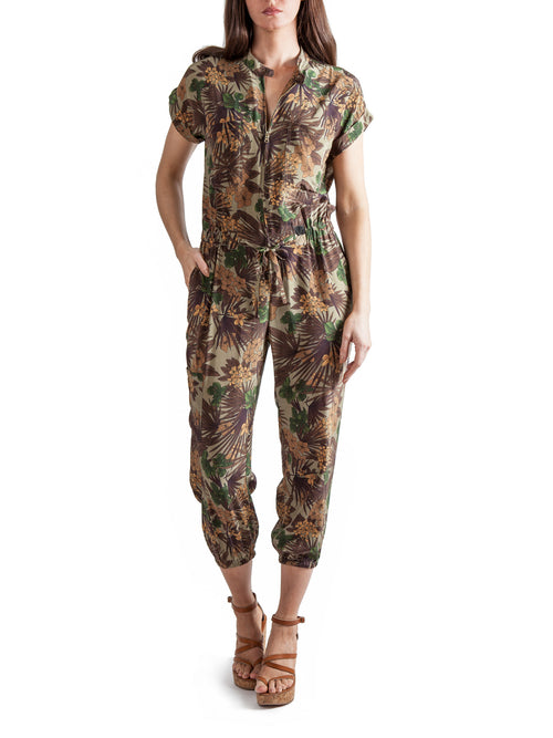 <b>Printed jumpsuit</b><br><i>Silk Crepe de Chine</i>