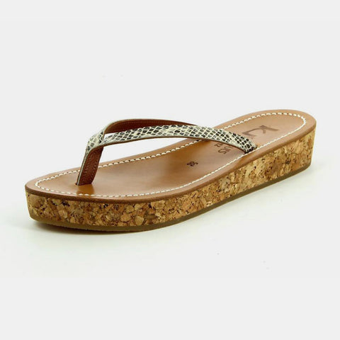 <b>K Jacques St Tropez</b><br><i>Antipolis Naturel Sandals</i>