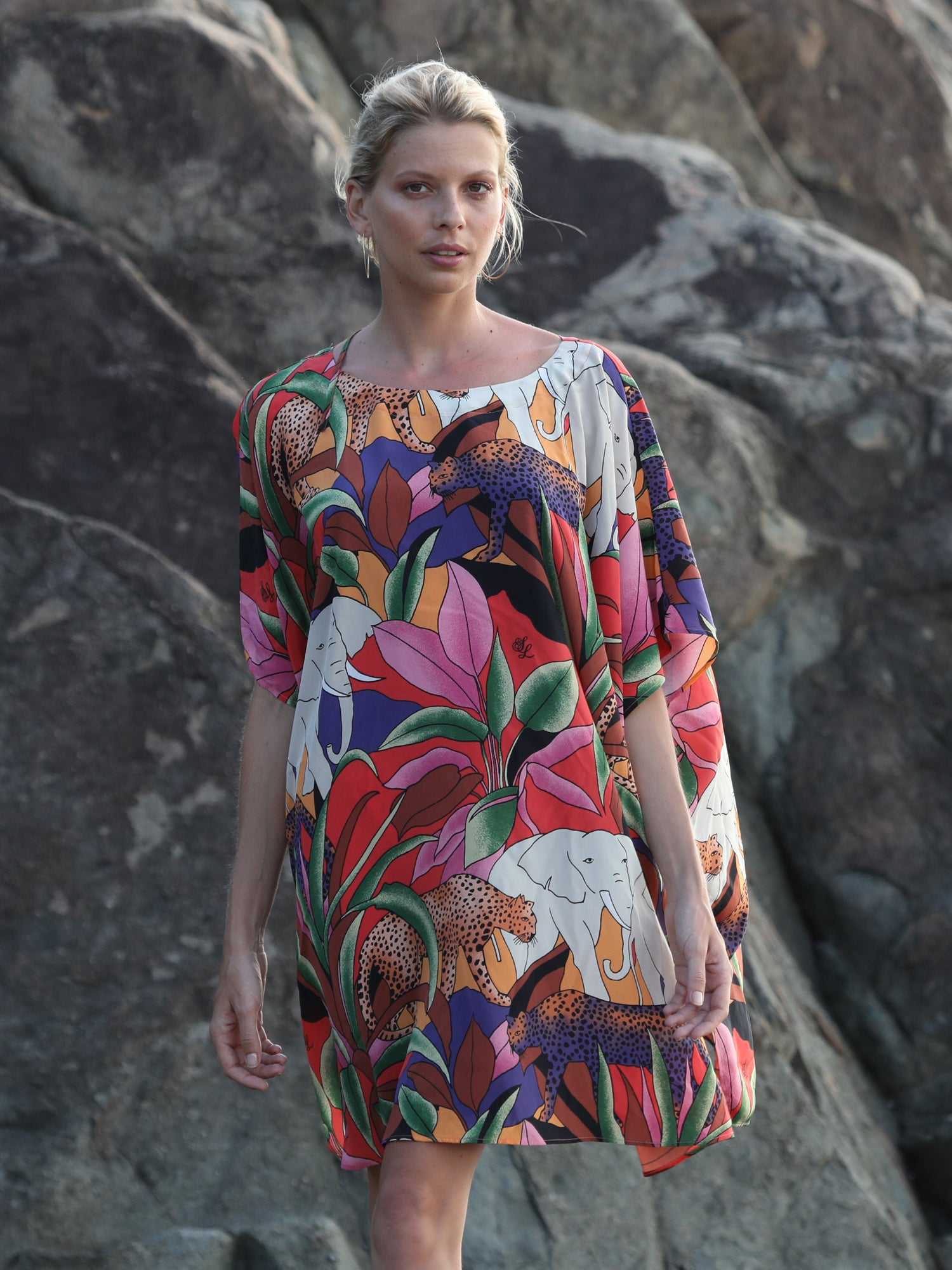 Kenya Dress | Safari Print