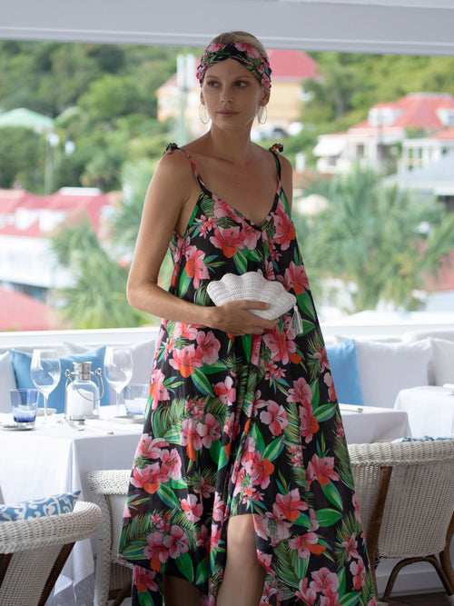 Mallorca Dress | Polynesia Print