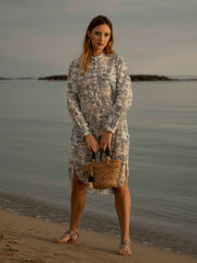 Serena Shirt Dress | Toile de Safari Print