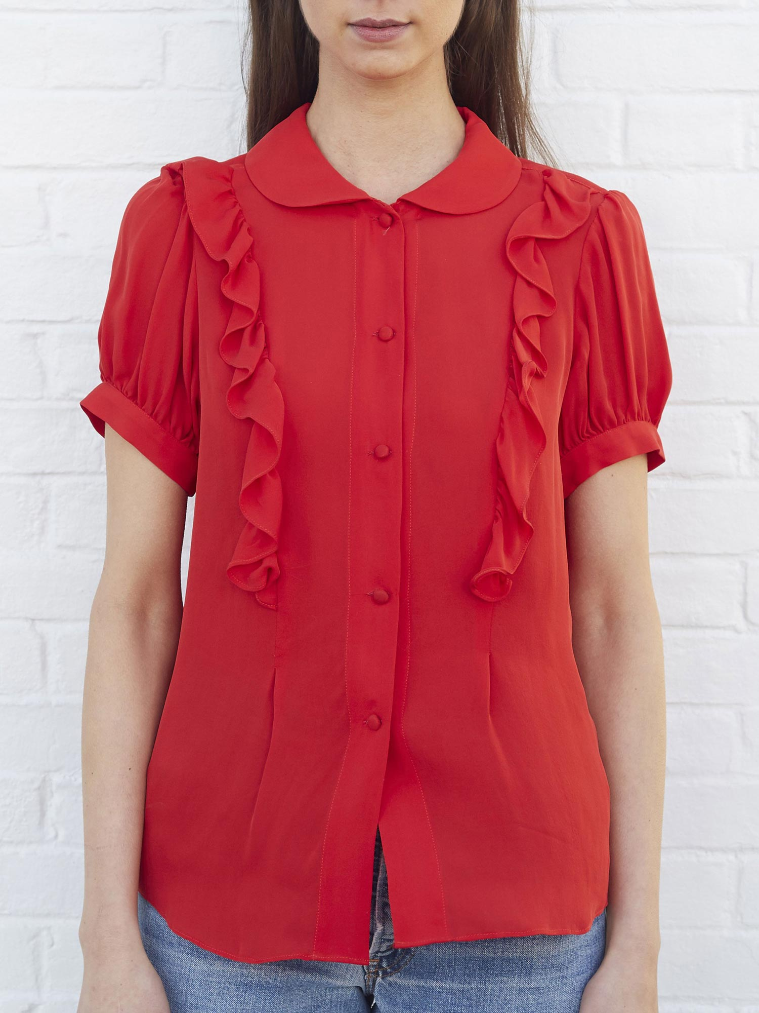 Carla Blouse | Red