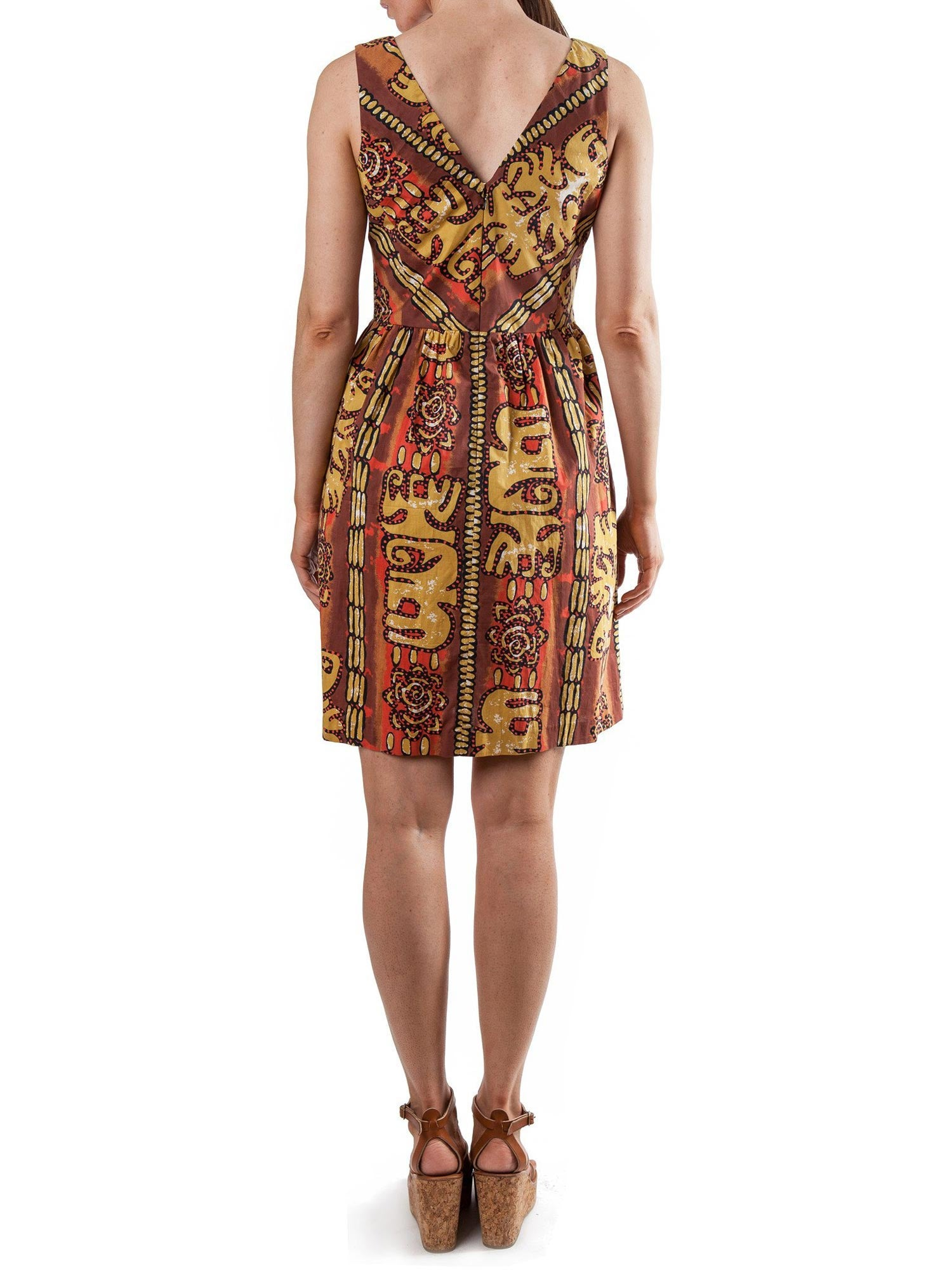 Afrika Print dress | Cotton