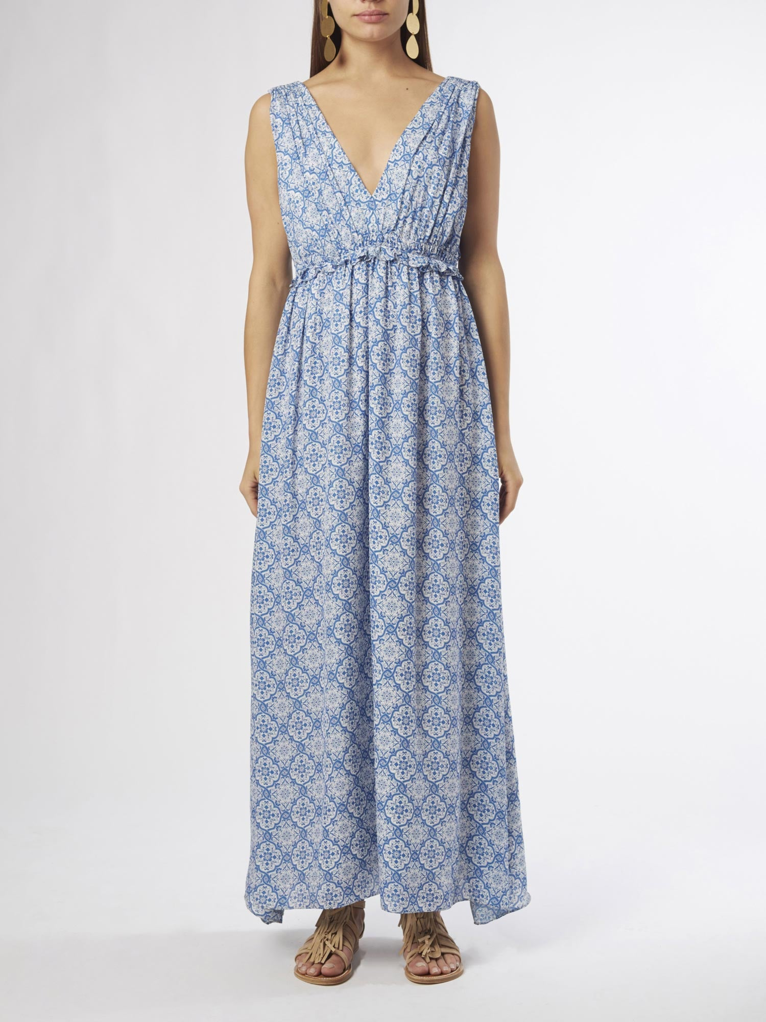 Comporta Maxi Dress | Silk Georgette