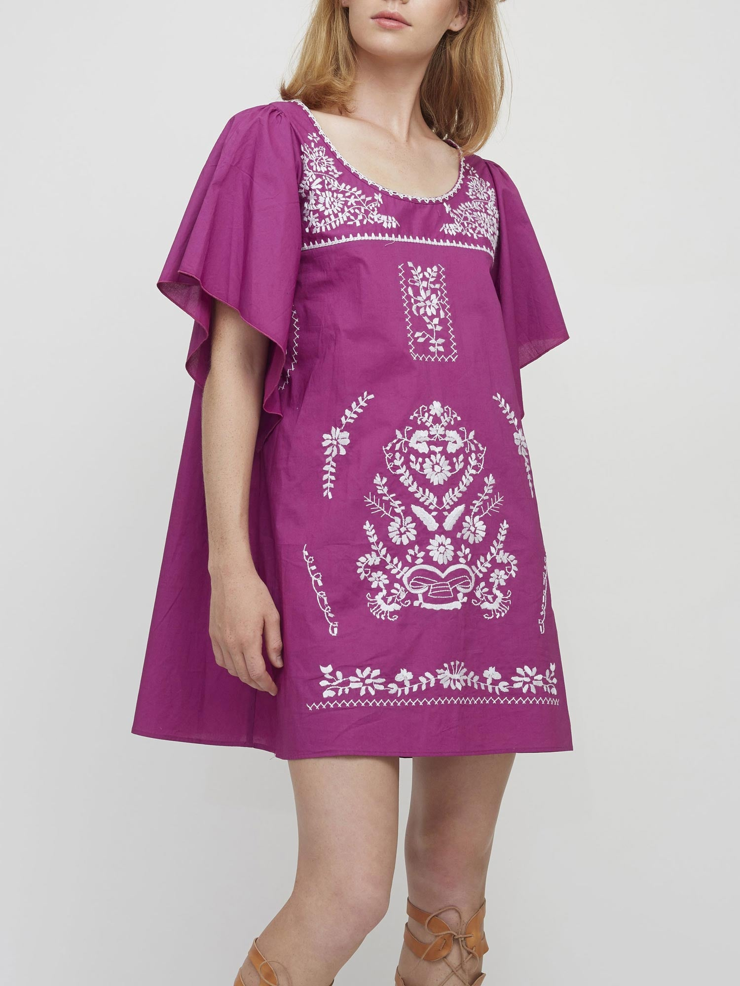 Freya Kaftan Dress | Purple