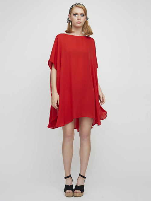 <b>Gina Dress</b><br><i>Red</i>