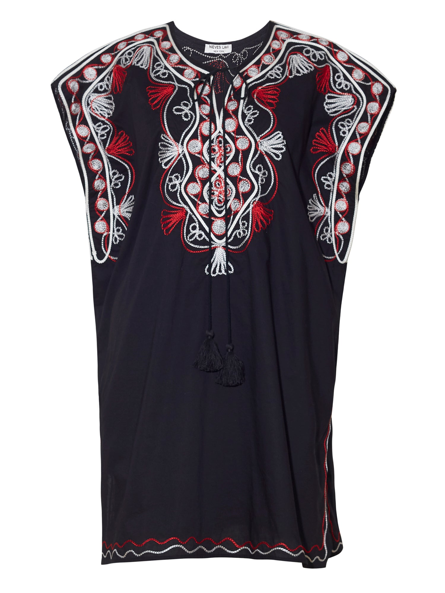Goa Kaftan Dress | Black